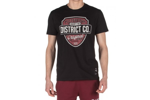DISTRICT75 MEN'S TEE 120MSS-671 Black