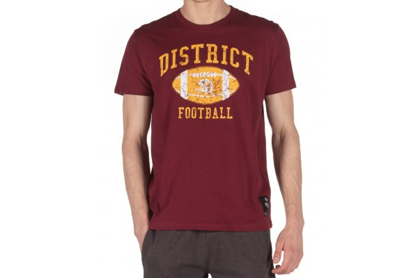 DISTRICT75 MEN'S TEE 120MSS-672 Μπορντό