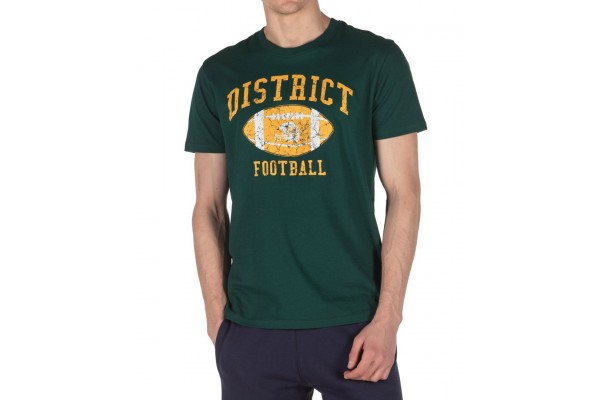 DISTRICT75 MEN'S TEE 120MSS-672 Green