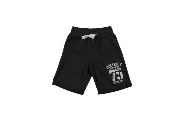 DISTRICT75 BOYS' SHORT PANTS 120KBVE-737 Black