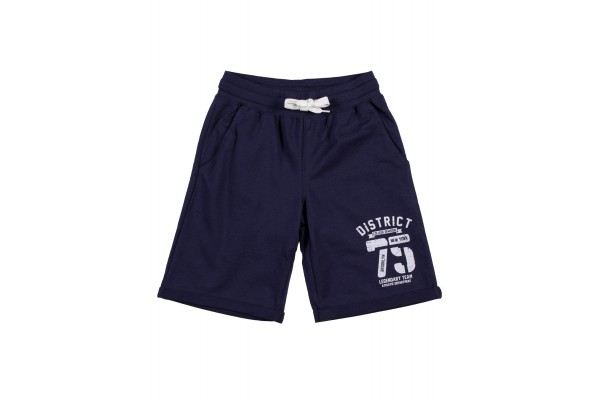 DISTRICT75 BOYS' SHORT PANTS 120KBVE-737 Blue