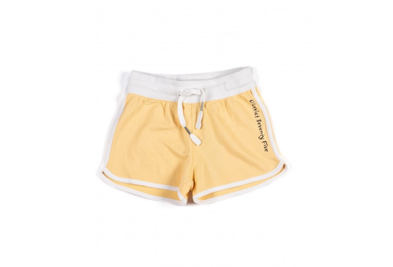 DISTRICT75 GIRLS' SHORTS 120KGSO-752 Κίτ�ινο